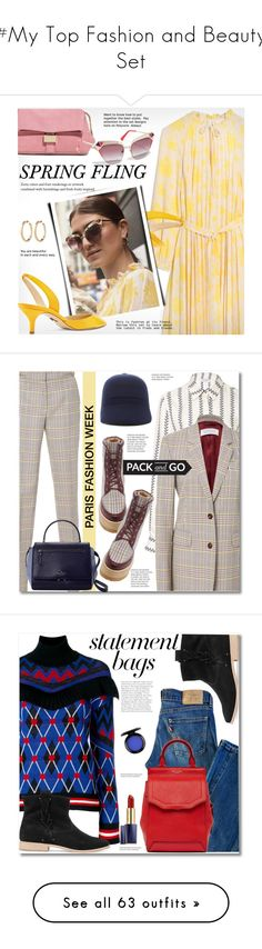 """#My Top Fashion and Beauty Set"" by svijetlana ❤ liked on Polyvore featuring Paul Andrew, springdresses, Kate Spade, parisfashionweek, Packandgo, Levi's, Soludos, MSGM, rag & bone and John Lewis"
