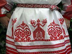 a woman's ritual dress made by Irina Zhoukova