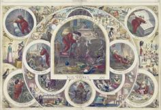 "Note the impish size of Santa in this. Thomas Nast, ""Santa Claus and His Works,"" Wood engraving, 1866"