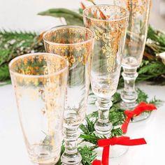 Palace Trellis Stemware #anthrofave #champagneglasses