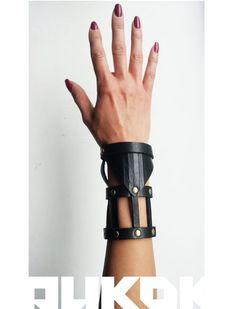 Leather Bracelet by PYKOK