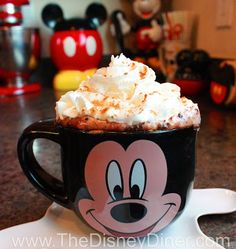 The Disney Diner: World's Best Hot Chocolate Recipe from Napa Rose (Disneyland)