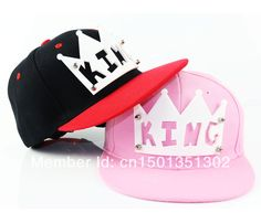 Find More Baseball Caps Information about Chao South Korea candy color sweet crown king stereo letters along the female hip hop foster a baseball hat,High Quality baseball hat,China hats web Suppliers, Cheap hats basketball from Contracted shop on Aliexpress.com