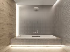 DINAMIC WHITE SILVER Wall Tiles With Metal Effect By ALEA