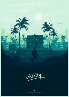 Welcome back to Vice City - Poster Spy City Poster, Poster S, Video Game Posters, Video Game Art, Video Games, San Andreas Gta, Gfx Design, Gaming Posters, City Wallpaper