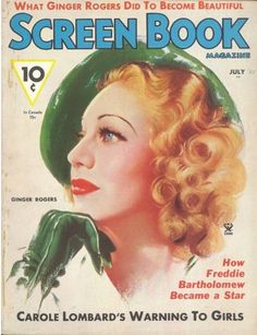 Ginger Rogers - Screen Book Magazine - July 1935