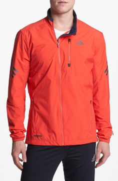 Great color on this mens supernova track jacket- I would see myself wear out for a run or just typical daily wear around the house.