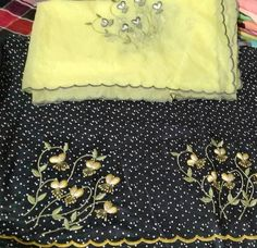 Embroidery Suits Punjabi, Embroidery On Kurtis, Kurti Embroidery Design, Embroidery On Clothes, Shirt Embroidery, Indian Embroidery Designs, Embroidery Designs Free Download, Machine Embroidery Designs, Embroidery Boutique