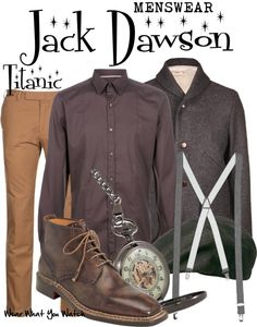 Inspired by Leonard DiCaprio as Jack Dawson in 1997's Titanic.