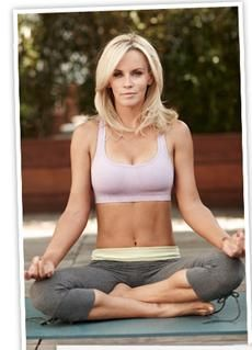 Jenny McCarthy inspires me because she's fit, gorgeous, funny and stands up for what she believes in.
