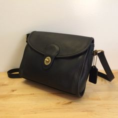 Vintage Coach Devon Black Leather by ChrysanthemumVintage on Etsy