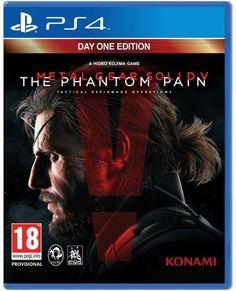 Metal Gear Solid V: Phantom Pain (PlayStation - Konami Metal Gear Solid, Videogames, Generation Game, Now Games, New Video Games, Playstation Games, Online Gratis, Rock Music, Xbox One