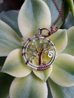 Tree of Life peridot tree of life green by TrippySerendipity