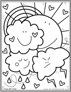 Coloring Club Library — From the Pond Preschool Coloring Pages, Cute Coloring Pages, Flower Coloring Pages, Animal Coloring Pages, Printable Coloring Pages, Free Coloring, Adult Coloring Pages, Coloring Pages For Kids, Coloring Sheets