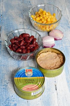 Tuna In Olive Oil, Jacque Pepin, Romanian Food, Vegan Dishes, Good Food, Pudding, Salad, Cooking, Desserts