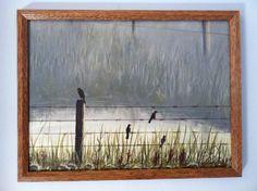"Original acrylic on canvas board. 16""x20"". By Ronda Wiebe. SOLD"