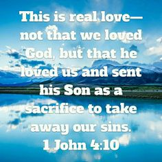 True Love=Jesus dying for you!