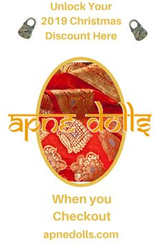 Searching for that unique fashion doll but with a twist. Here you can get your Christmas 2019 gift purchase of your very own Punjabi Indian Satty Doll by Apne Dolls. This beautiful gift comes in a gift box with the addition of an illustrated story book introducing Satty and her family to yours. Remember it's Boxing Day Sale prices right now for you at the checkout. Order early to ensure Christmas delivery. Unique Fashion, Indian Fashion, Christmas 2019, Christmas Gifts, Indian Dolls, Unique Toys, Boxing Day, New Dolls, Christmas Delivery