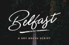 Belfast - A Dry Brush Script by Hustle Supply Co. --> https://crmrkt.com/zkgBM