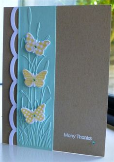 Many Thanks by hskelly - Cards and Paper Crafts at Splitcoaststampers