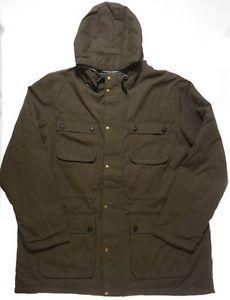 LANDS  END Mens TALL Sportsman Reversible Parka XXL XXL T Winter Jacket  Coat 2XL 61498dd1f6b