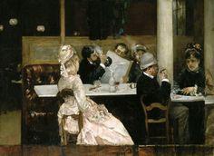 Henri Gervex Cafe Scene in Paris 1877 - Henri Gervex - Wikipedia, the free encyclopedia