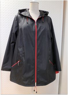 Dámská jarní bunda nadměrné velikosti