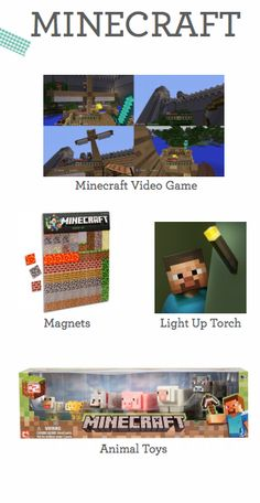Top minecraft toys for the holidays. This obsession isn't going away any time soon!