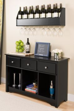 I like the clean organization and layout on the top of the cabinet.  great for small spaces/apartment if in need of a mini bar/buffet table...