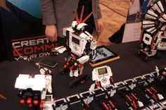 I saw the Lego EV3 in person last night, and let me tell you how much I wish I had one right now.