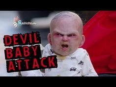 El ataque de un bebé endemoniado #Video - Cachicha.com