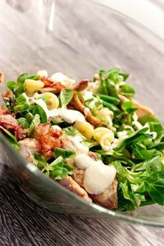 Cobb Salad, Healthy Recipes, Treats, Food, Diet, Sweet Like Candy, Essen, Healthy Eating Recipes, Clean Eating Recipes