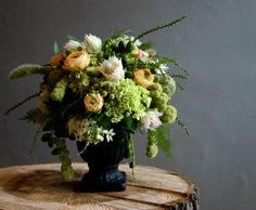 such a pretty flower arrangement