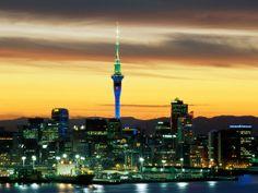 Exploring New Zealand - Auckland