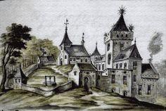 Hilligersberg: alleen IETS meer pittoresk dan zij dit omschrijft.... Rotterdam, Classical Architecture, Barcelona Cathedral, Dutch, City, Building, Castles, Nostalgia, Classic Architecture