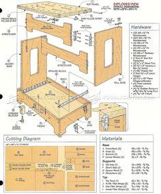Knock Down Workbench Plans - Workshop Solutions