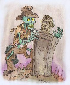 Undead Indiana Jones. Skeleton prop. Dave Lowe