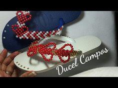TRAMA CORAÇÃO VAZADO. ESPECIAL PARA MÃES E NAMORADAS. / Ducel Campos - YouTube Beaded Crafts, Heart Art, Cross Stitch Patterns, Flip Flops, Slippers, Beads, Youtube, Bead Crafts, Craft Ideas