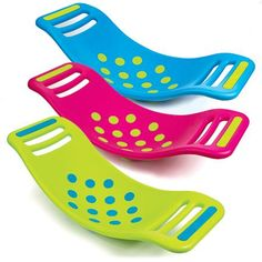 """Teeter Popper Activity Toy * Ages 5 and up * Rock and """"pop"""" with suction cups underneath the board!"""