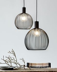 With its visible light source behind the curved metal threads, Nordlux Aver delivers both beautiful light and eye-caching shadows. Home Lighting Design, Interior Lighting, Interior Styling, Dining Room Light Fixtures, Dining Room Lighting, Metal Ceiling, Ceiling Pendant, Island Pendant Lights, Modern Hallway