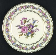 """Vienna"" china pattern from Rosenthal."