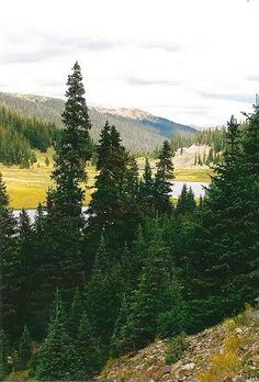 Milner Pass Poudre Lake, Rock Mountain National Park