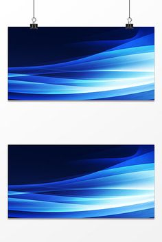 Blue flowing gradient design background#pikbest#backgrounds