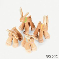 Plush Long-Legged Bunnies - goodie bags?