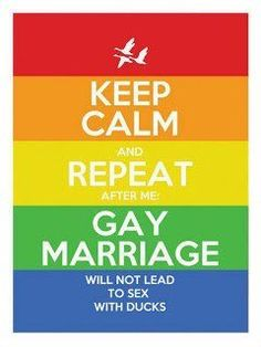 Gay marriage equal rights