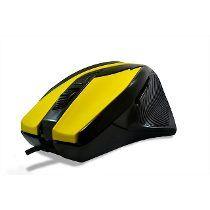 Mouse Gamers Laser Amarelo - Hardline