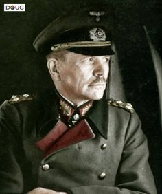 Heinz Guderian, the godfather of Panzer command. The man responsible for modern tank warfare tactics.
