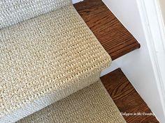 Sisaltex Stair runner in Indochine color - a great substitute for sisal Wall Carpet, Diy Carpet, Modern Carpet, White Carpet, Outdoor Carpet, Room Carpet, Deep Carpet Cleaning, How To Clean Carpet, Sisal Carpet