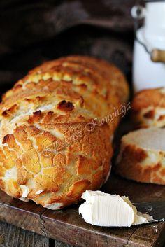 """Eléggé """"vadra"""" sikerült szerintem ez a Tigris kenyér... Ő nem harapott, csak mi. Nagyot, bele... Hihetetlenül ropogós ..."""