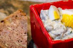 Chutney zčervené řepy - Spicy Crumbs Chutney, Mashed Potatoes, Spicy, Eggs, Breakfast, Ethnic Recipes, Food, Whipped Potatoes, Morning Coffee